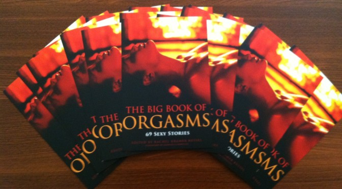 Big Book of Orgasms postcards