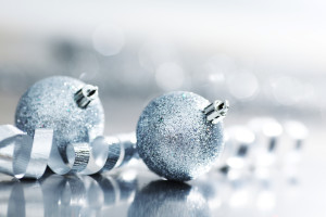 Picture of silver balls