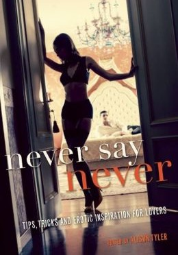 Cover of Never Say Never edited by Alison Tyler