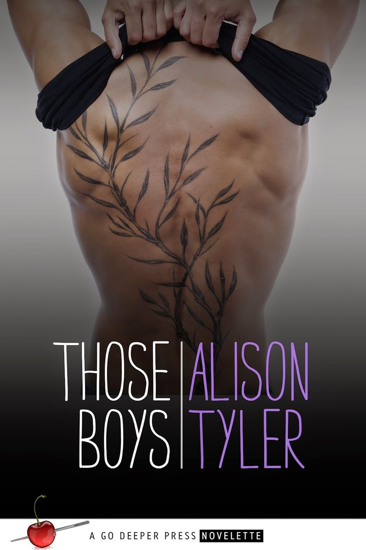 The gorgeous Those Boys cover! Courtesy of Go Deeper Press