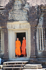 Angkor Wat with Monks